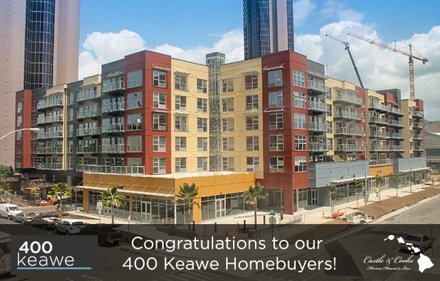 400 Keawe   Congratulations To Our New Homeowners!