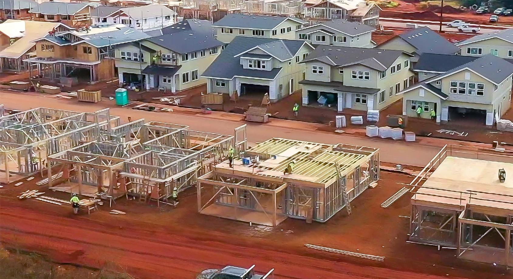 September Nanea and Luana construction