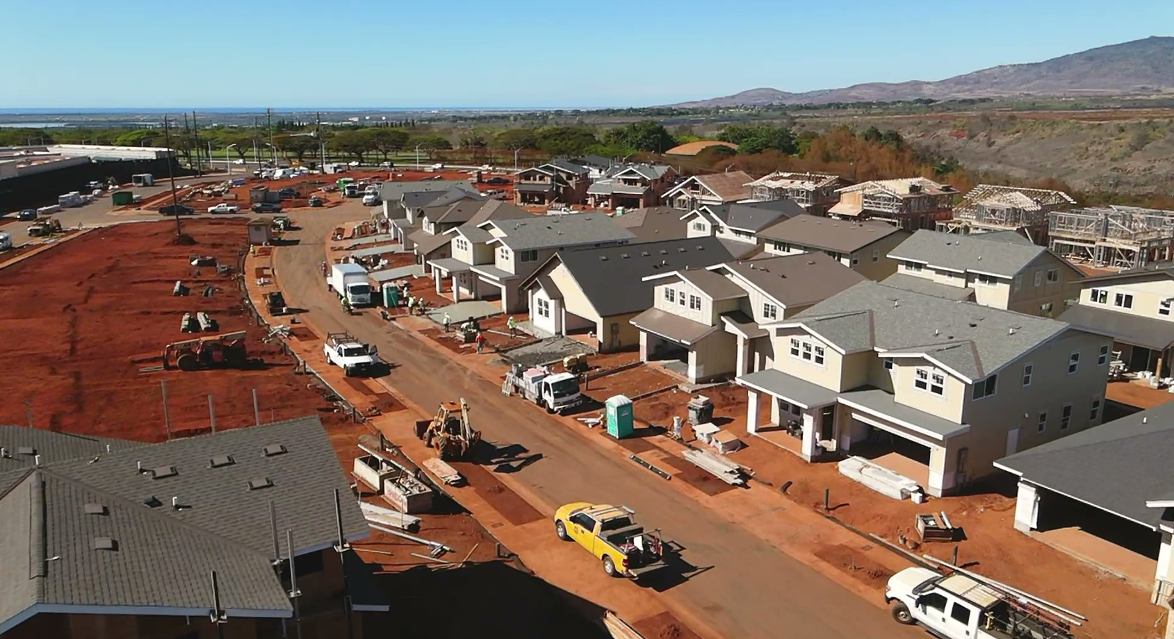 September 30 Nanea at Koa Ridge Phase 1 Construction